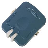 サンワサプライ コンパクト切替器 SW-CP21V 1個