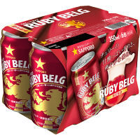 サッポロ ルビーベルグ 350ml 6缶