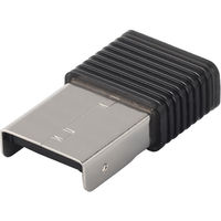 バッファロー Bluetooth4.0+EDR/LE Class1対応 USBマイクロアダプター ブラック BSBT4D100BK 1台  (直送品)