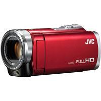 JVCケンウッド 8GBハイビジョンメモリームービー(レッド) GZ-E109-R 1台  (直送品)