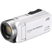 JVCケンウッド 32GBハイビジョンメモリームービー(ホワイト) GZ-F117-W 1台  (直送品)