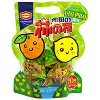 中国四国亀田の柿の種 みかん&レモン風味