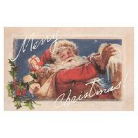 ヘッズ クリスマスアンティークサンタカード-2/英語 XAQ-C2 1セット(30枚×9パック:270枚) (直送品)