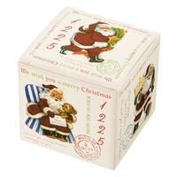 ヘッズ クリスマスアンティークサンタギフトBOX-SS XAQ-GSS 1ケース(20枚×10パック:200枚) (直送品)