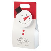 ヘッズ クリスマスオールドスノーマンギフトBOXバッグ型-S XOL-GB1 1セット(20枚:10枚×2パック)(直送品)