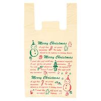 ヘッズ クリスマススノーパーティーレジ袋-L XPA-L 1ケース(100枚×20パック:2000枚)(直送品)