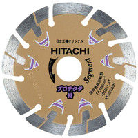 HiKOKI(ハイコーキ) ダイヤモンドカッター 105mm×20 (セグメント) プロテクタ 00324693(直送品)