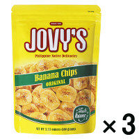 ジョビーズ バナナチップス 100g×3