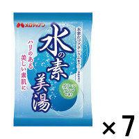 【アウトレット】水の素 美湯(水素入浴剤)グリーンアロマの香り 1セット(25g×7包) メロディアン