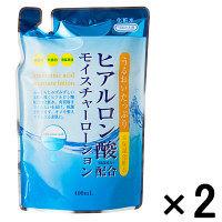 【アウトレット】ヒアルロン酸モイスチャーローション(化粧水)詰め替え用 1セット(400ml×2袋) TKコーポレーション