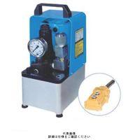大阪ジャッキ製作所 小形電動油圧ポンプ NEX-2EGS 1個(直送品)