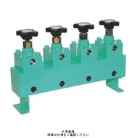 大阪ジャッキ製作所 パワージャッキ用分流器 DW6-4-V3 1個(直送品)