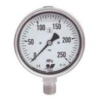 大阪ジャッキ製作所 パワージャッキ用圧力計 PGO-100X2500 1台 (直送品)