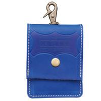 KNICKS グローブ革携帯灰皿ケース ブルー SABL SA-BL 1セット(2個)(直送品)