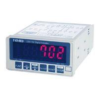 ミネベアミツミ(MinebeaMitsumi) 変換器用デジタル指示計 CSD-702 1個 (直送品)