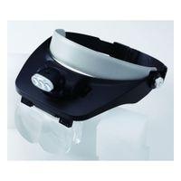 新潟精機 LEDヘッドルーペ HL-LED 1セット(3セット) (直送品)