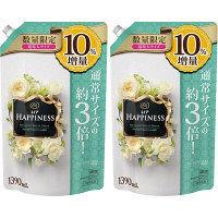 【数量限定増量品】レノアハピネス プリンセスパールドリームの香り 詰め替え 超特大 1390ml 1セット(2個入) 柔軟剤 P&G
