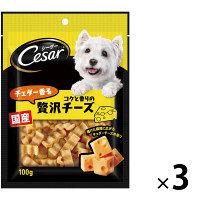 シーザースナック チェダーチーズ×3