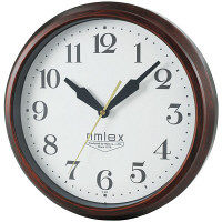 ノア精密 電波掛時計エクストラルバルBR