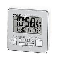 カシオ計算機 wave ceptor 温度・湿度計測機能付き時計 [電波 置き 時計] DQD-805J-8JF シルバー 1個 (取寄品)