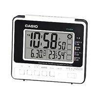 カシオ計算機 wave ceptor 温度・湿度計測/生活環境お知らせ機能付き時計 [電波 置き 時計] DQL-250J-7JF ホワイト 1個 (取寄品)