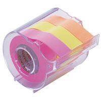 ヤマト メモックロールテープ 蛍光カラー RK-15CH-C 3個 (直送品)