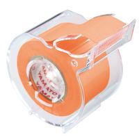 ヤマト メモックロールテープ オレンジ SR-25CH-OR 5個(直送品)