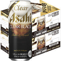 【期間限定】クリアアサヒ クリアブラック 500ml 48缶