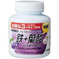 MOSTチュアブル 鉄+葉酸 90日分 180粒 オリヒロ サプリメント