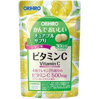 かんでおいしいチュアブルサプリ ビタミンC 30日分 120粒 オリヒロ サプリメント