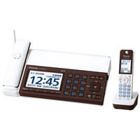 パナソニック デジタルコードレス普通紙ファクス(子機1台付き)(ピアノホワイト) KX-PD915DL-W 1台(直送品)