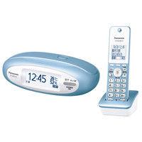 パナソニック コードレス電話機(親機に置く専用子機1台+子機1台付き)(メタリックブルー) VE-GDX16DL-A 1台  (直送品)