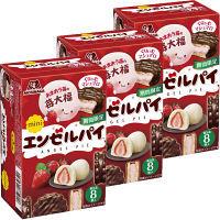 森永 ミニエンゼルパイ 苺大福 3箱