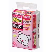 ケース販売 ボンビアルコン しつけるシーツ 幼犬用 1ケース(240枚:40枚×6袋)
