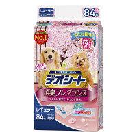 ケース販売 デオシート 消臭フレグランス 桜の香り レギュラー 1ケース(504枚:84枚×6袋) ユニ・チャーム