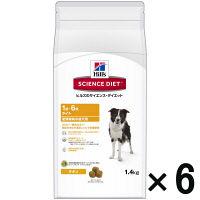 SCIENCE DIET(サイエンスダイエット) ドッグフード ライト 肥満傾向の成犬用 1.4kg 1ケース(6袋) 日本ヒルズコルゲート