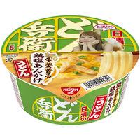 日清のどん兵衛 生姜香る鶏塩あんかけうどん 1セット(3個入)