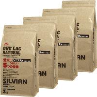 ONE LAC(ワンラック) ドッグフード ナチュラルシルビアン 3kg 1ケース(4個) 森乳サンワールド