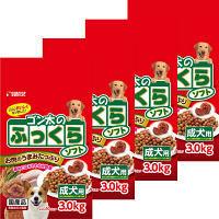 ゴン太のふっくらソフト ドッグフード 成犬用 3Kg 1ケース(小分け10パック×4個) マルカン