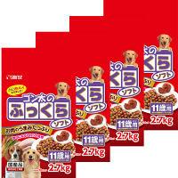 ゴン太のふっくらソフト ドッグフード 1用 2.7Kg 1ケース(小分け10パック×4個) マルカン
