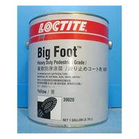 ヘンケルジャパン(Henkel Japan) ロックタイト 滑り止めコート剤 ビッグフット HDP(黄) 3.8L 39020 1缶(3.8L)(直送品)