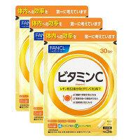 ビタミンC 徳用タイプ 約90日分(1袋(90粒)×3) ファンケル サプリメント