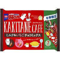 亀田製菓 亀田の柿の種ミルク&いちごチョコミックス 120g 1袋