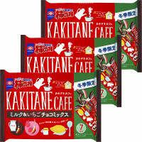 柿の種ミルク&いちごチョコミックス 3袋