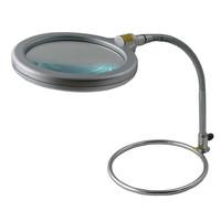 スタンドレンズ(ガラス製レンズ) フレキシブルアーム レンズ倍率約2倍 1個 RX-1500M ティ・エス・ケイ(取寄品)