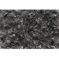 イケヒコ ラグ カーペット 1畳タイプ シャギー調 『ラルジュ』 グレー 約100×150cm 楕円3959059 1枚 (直送品)