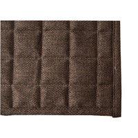 イケヒコ ラグ 1.5畳タイプ 洗える 無地 『コルム』 ブラウン 約130×185cm ホットカーペット対応 4513969 1枚 (直送品)