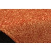 イケヒコ ラグ 洗える 無地カラー 選べる7色 『モデルノ』 オレンジ 約200×250cm 4599639 1枚 (直送品)
