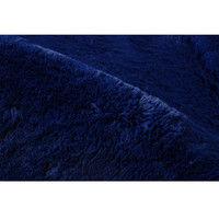イケヒコ ラグ カーペット ルームマット フィラメント糸 『フィリップ』 ネイビー 約92×130cm 4634959 1枚 (直送品)