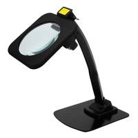 スタンドルーペ(LEDライト付) レンズ倍率約2倍 レンズ径128mm 1個 RX-128ML ティ・エス・ケイ(取寄品)